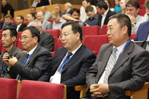 Participants of the conference «Ti-2016 in the CIS» from China