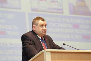 The chief of «The Interstate Association of the Titanium» Andrey Aleksandrov