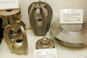 Shaped casting products from ferrous and non-ferrous metals and alloys